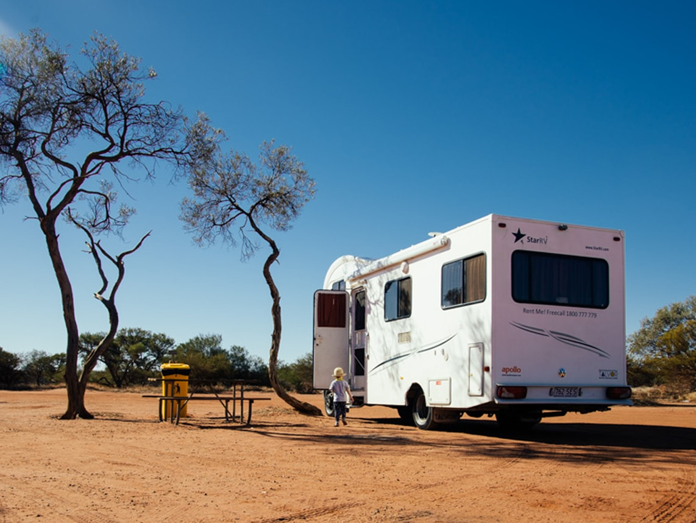 Kempingi w Australii